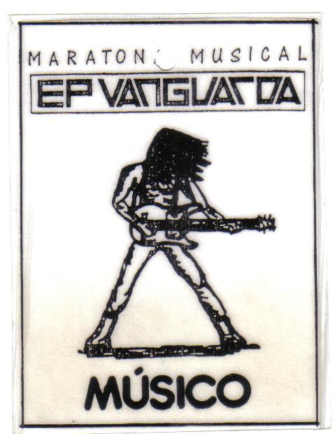 Banda X-Rated - PASS da MARATONA MUSICAL EP VANGUARDA - Arpoador - RJ Nov-1994